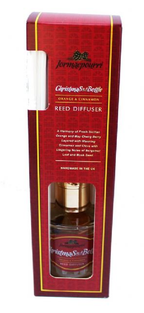 'Christmas in a Bottle' Reed Diffuser